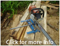 Panther cub chainsaw mill portable saw mill.