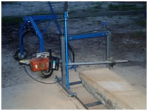 Panther Pro chainsaw mill portable saw mill.
